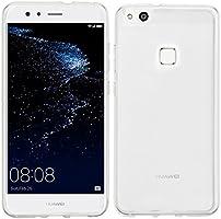 Funda Huawei P10 lite + Protector de Pantalla, EUGO TPU Funda Gel ...