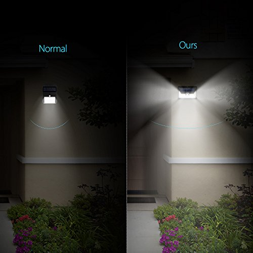 Litom Solar Lights Super Bright 24 Led Outdoor Solar