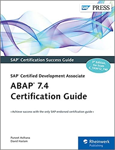 Amazon.com: ABAP 7.4 Certification Guide (SAP PRESS) (9781493212125 ...