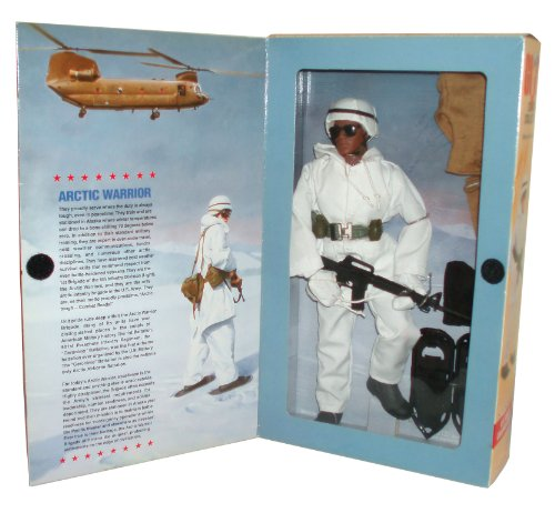 GI Joe Year 1998 Limited Edition Classic Collection Series 12 Inch Tall Action Figure - U.S. Army Coldweather with