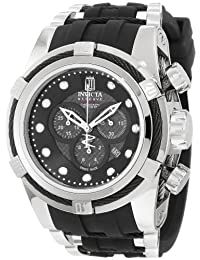 Jason Taylor Reserve Bolt Chronograph Stainless Steel Case Rubber Strap Date Display