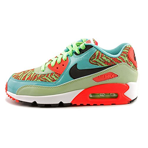 Nike Air Max Ltd Menns Løpesko 407979-134 Turkis / Orange / Svart