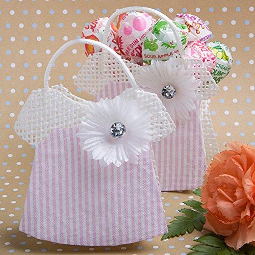 Pink-White Woven Rattan Mesh Baby Jumper Bag (Rattan Mesh)