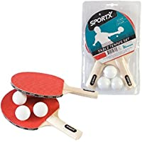 SPORTX Net - Kit de ping pong, color multicolor