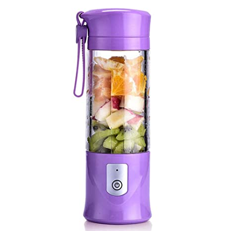 Mini Batidora Electrica Verduras Smoothie Maker Portátil Batidora De Vaso 420ml USB Recargable Para Smoothies Zumos