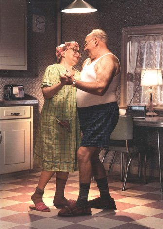 Couple Dancing In Kitchen - Avanti Anniversary (Best Avanti Press Grandma Cards)
