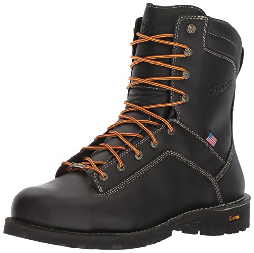 Danner Men's Quarry USA 8'' Black at Work Boot -
