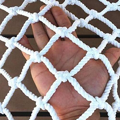 HUYYA クライミングネット、クロール 5センチメートルメッシュ編組ロープネット / 麻ネット/安全ネット子供屋外開発トレーニングロープ保護ネット,A_1.2x6m/3.6x18ft