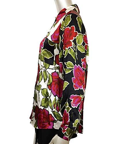 A Uterque Donna Fiori 0619 251 Camicia qwEvxwR8
