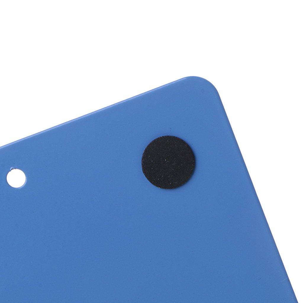 Llwei258 color morado 12.5x13x14cm//4.92x5.12x5.51 Sujetalibros de metal con forma de alfabeto