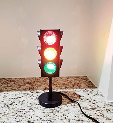 11 Blinking Traffic Light Lamp Kids Room Decor