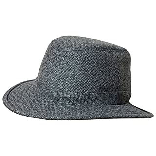87a8a50aa Tilley TTW2 Tec-Wool Hat Grey / Black 77/8 (B00JV0Z4GA) | Amazon ...