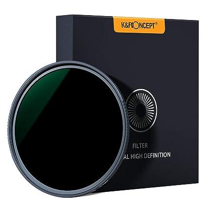 K&F Concept - Filtro ND1000 67mm MRC 18 Capas para Cámara Lente NO ...