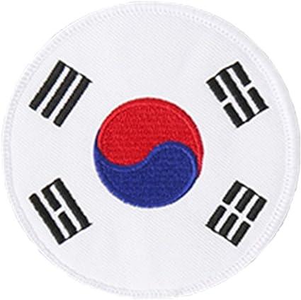 MOOTO Embroidery PATCH White 1ea Korea TAEKWONDO TAE KWON DO DOBOK TKD UNIFORM