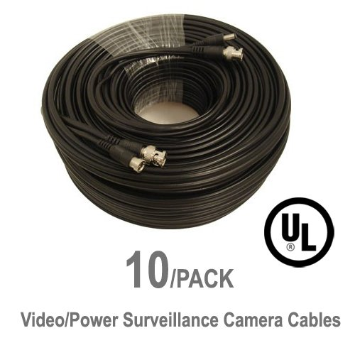 10-Pack-UL-Listed-25-ft-Feet-Professional-Grade-RG59-siamese-combo-cable-for-TVI-CVI-AHD-and-HD-SDI-camera-system-with-BNC-connectors-and-21mm-power-jack-for-plug-and-play-connections