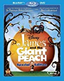 James and the Giant Peach (Two-Disc Special Edition Blu-ray/DVD Combo) [Blu-ray]