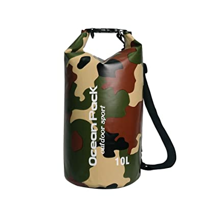 5b6f317a69 2L  5L  10L  15L  20L  30L Camouflage Waterproof Dry Bag Roll Top Dry Sack  Keeps Gear Dry for Kayaking Boating  Canoeing Rafting  Fishing Beach  ...