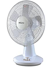 "PowerPac PPTF16 16"" Desk Fan with Oscillation & Timer"