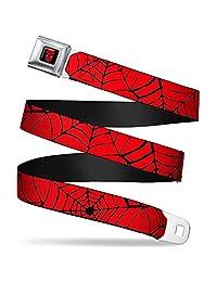 Buckle Down Unisex-Adult Seatbelt Belt Spider-Man Regular