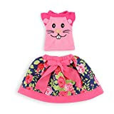 #9: WakaoFeeling Set of 5 (10pcs) 14.5 Inch Doll Clothes for Wellie Wishers Doll , Accessories Outfits for 14.5