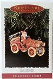 Santa's Roadster Here Come Santa Series 17th in Series 1995 Hallmark Ornament QX5179