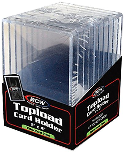 BCW Supplies Thick Topload Holder