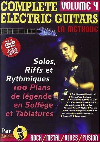 Livres gratuits Complete Electric Guitars Vol.4 CD & DVD (Nouvelle Version) epub pdf
