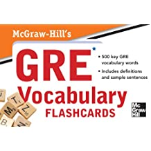 McGraw-Hill's GRE Vocabulary Flashcards
