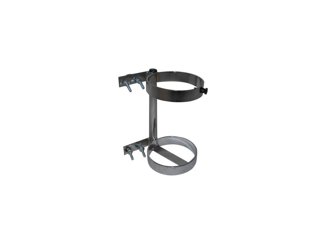 FWF OXYGEN HOLDER FOR A WALKER HOLDS 1 (D OR E STYLE) CYLINDER DIAMETER MADE IN USA