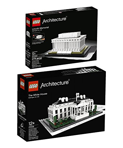 Lego Architecture Washington, D.C. Collection: The White House 21006...