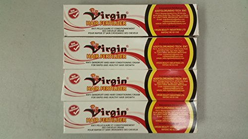 Virgin Hair Fertilizer New Improved 125g 2pc (African Hair Fertilizer)