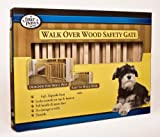 Four Paws Walk Over Wooden Dog Gate, 30-44' W by 18' H
