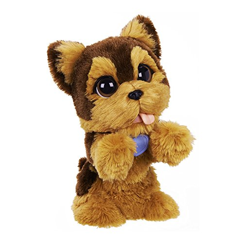 FurReal Friends Jake My Jumping Yorkie Toy - Interactive Plush, Ages 4 and up (Amazon Exclusive) (Best Friend Max Walking Dog)