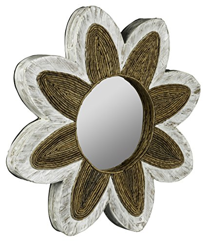 Water Hyacinth & Banana Leaves Maiden Mirror Model-40742
