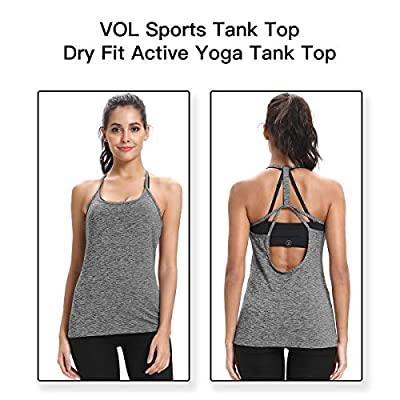 Yoga Tank Top – Dry Fit Activewear Sports Tank Top