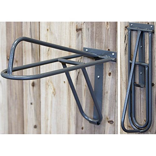High Country Plastics Folding Saddle Rack, Wall Mount by High Country Plastics