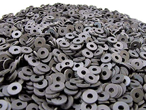 1 1//4 OD x 3//8 ID x 1//16 Thickness Neoprene Rubber Washers 60 Duro Primal23 Industrial Endeavor Series Rubber Washers 100 Pack