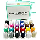 New brothread 24 Basic Colors Multi-Purpose