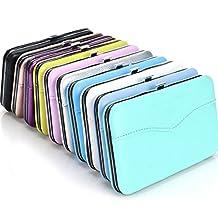 Gracefulvara Makeup Tools Bag for Eyelash Extension Tweezers Storage Box Case Random Color