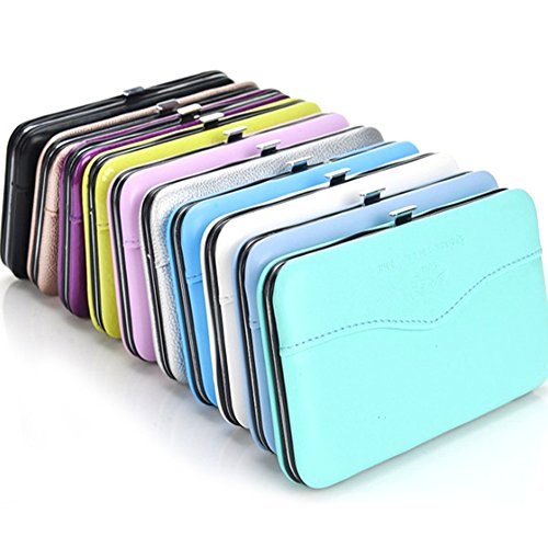 Gracefulvara 1pcs Makeup Tools Bag for Eyelash Extension Tweezers Storage Box Case Random Color (Case Tweezers)