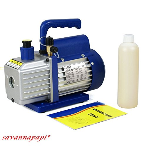 1/3HP 4 CFM Rotary Vane Deep Vacuum Pump HVAC Tool For AC R4