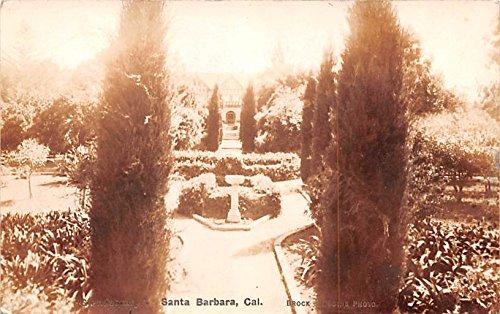 Garden Santa Barbara, California postcard ()