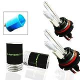 9007 5000k headlight bulbs - Lumenon HID Xenon Conversion Headlight Replacement Bulbs 1 pair (9007 HB5, 5000k Pure White)