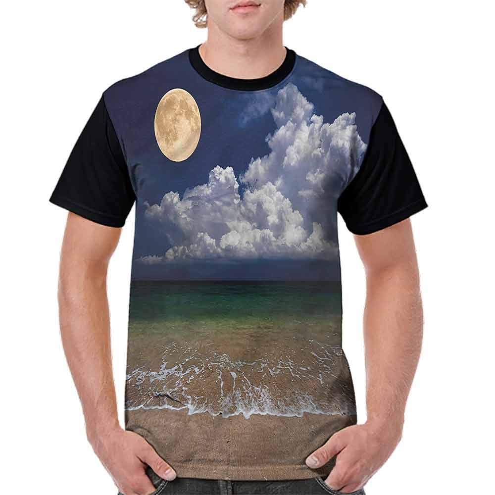 Unisex T-Shirt,Autumn Trees Leaf Forest Fashion Personality Customization