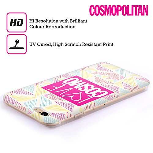 Official Cosmopolitan Scribble Love Cosmo Soft Gel Case for Apple iPhone 5 / 5s / SE