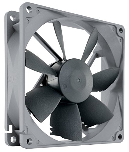 - Noctua NF-B9 redux-1600 PWM, High Performance Cooling Fan, 4-Pin, 1600 RPM (92mm, Grey)