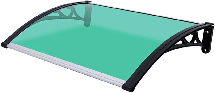 Color : Green, Size : 60x60cm LPD Door Canopy Awning Window Canopy ...