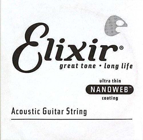 (Elixir Strings Acoustic Phosphor Bronze Guitar Strings with Nanoweb Coating (.035) )