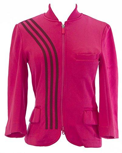 adidas Y-3 Yohji Yamamoto Women's Zip Up Track Jacket Sz S Flamingo ()