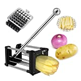 Best French Fry Cutters - French Fry Cutter, Wosweet Professional Potato Chipper Homemade Review